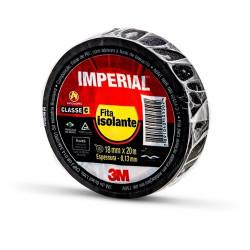 Fita Isolante IMPERIAL 18mm x 20m - 3M