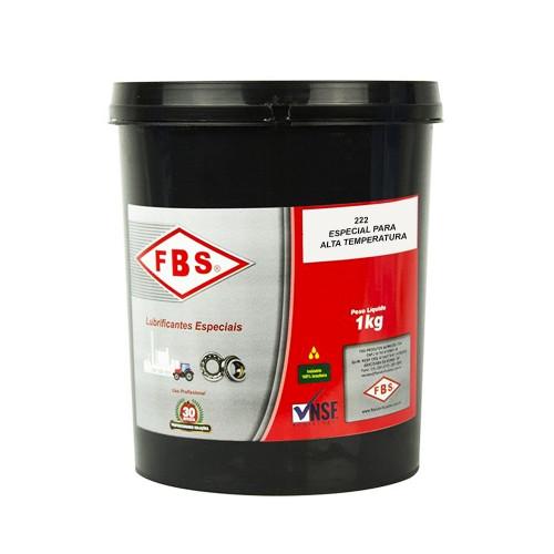 Graxa Especial Para Alta Temperatura 222 Fbs - 1kg