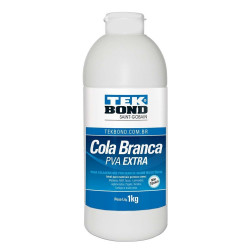 Cola Branca 1 KG PVA EXTRA - TEKBOND