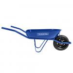 Carrinho de Mão Azul com Caçamba Metálica 50 litros TRAMONTINA - 77704432